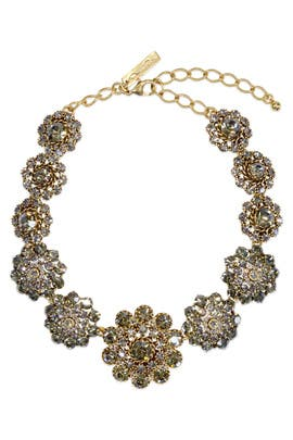 Baroque Bejeweled Necklace by Oscar de la Renta