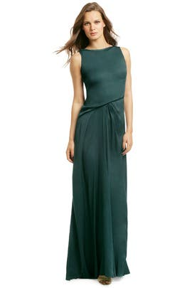Envious Emerald Eve Gown by Halston Heritage