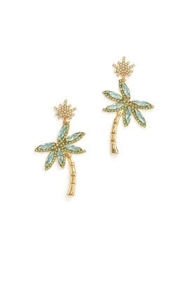 Palm Tree Statement Earrings by kate spade new york accessories