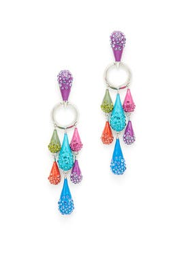 Candy Raindrop Earrings by Sarah Magid