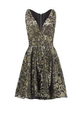 Gold Marilyn Dress by allison parris