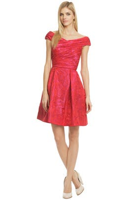 Hybrid Tea Rose Dress by Theia