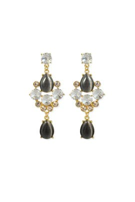 Slate & Willow Accessories - Smoke and Mirrors Earring