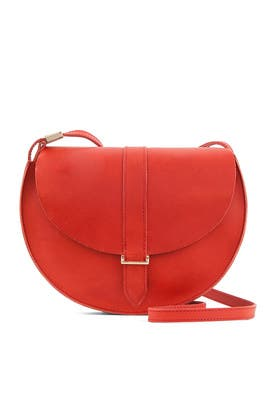 Red Luce Supreme Crossbody by Clare V.
