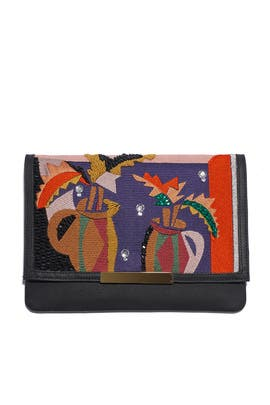 Cubist Vase Port of Call Clutch by Lizzie Fortunato