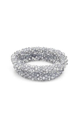 Silver Stretch Bracelets by RJ Graziano