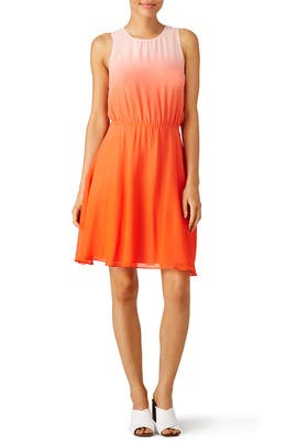 ERIN erin fetherston - Malibu Orange Crush Dress