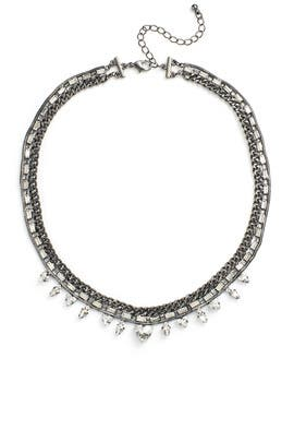 Crystal Triangle Necklace by Slate & Willow Accessories