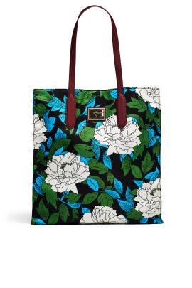 Boswell Ivory Nylon Tote by Diane von Furstenberg Handbags