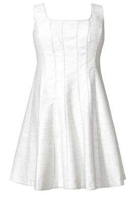Silver Shimmer Dress by Kay Unger