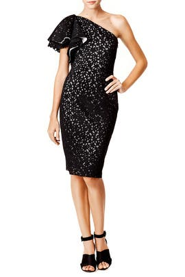 Cut and Dry Sheath by Badgley Mischka