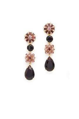 Trellis Blooms Statement Earrings by kate spade new york accessories