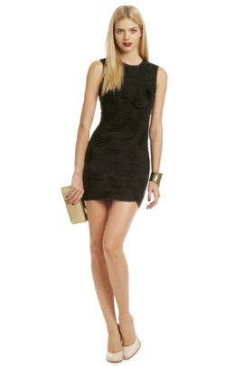 Delicate Scalloped Dress by Robert Rodriguez Collection