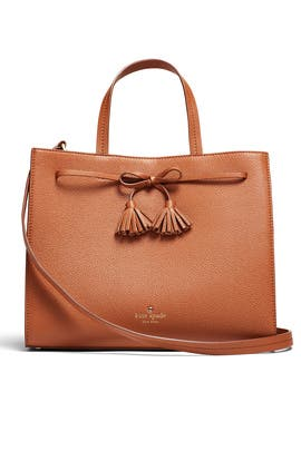 Cognac Hayes Street Bag by kate spade new york accessories