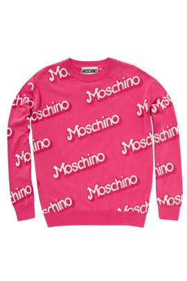 Think Pink Sweater by Moschino