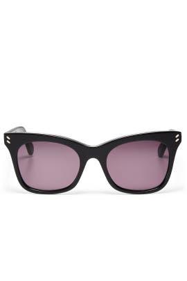 Black Cat Eye Sunglasses by Stella McCartney