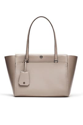 Grey Parker Tote by Tory Burch Accessories