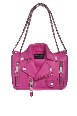 Pink No Limits Bag by Moschino Accessories