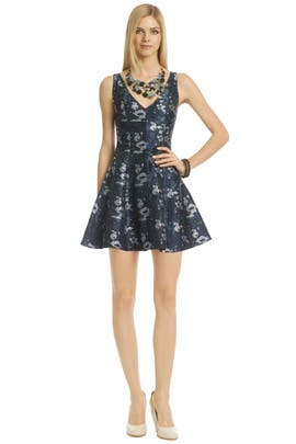 Opening Ceremony - Floral Sunday Blues Dress
