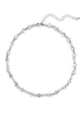 Crystal Light Spark Choker by Slate & Willow Accessories
