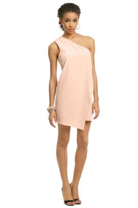 Tibi - Blush Sequin Sprinkle Dress