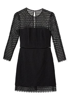 Geo Lace Sheath by Cynthia Rowley