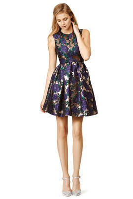 Blue Blossom Dress by MSGM