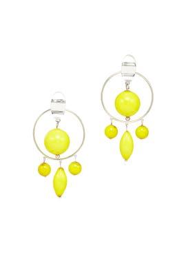 Yelllow Chandelier Earrings by 3.1 Phillip Lim Accessories