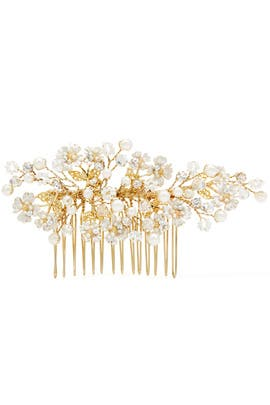 Spring Bloom Pearl Comb by RTR Bridal Accessories