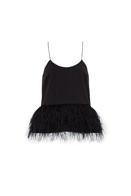 Black Mindy Tank by Tibi