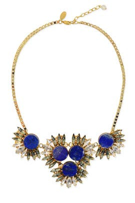 Blue Jasmine Necklace by Anton Heunis