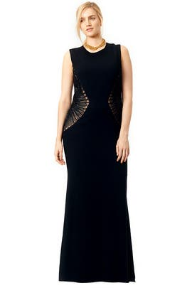 Cinch Gown by Carmen Marc Valvo