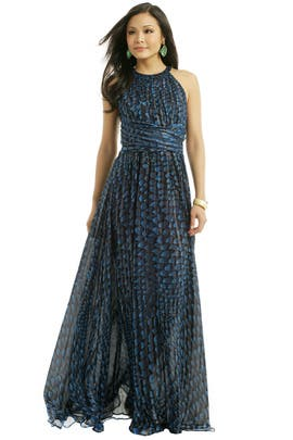 Issa - Crescent Wave Maxi