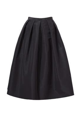 Black Essential Skirt by Tibi
