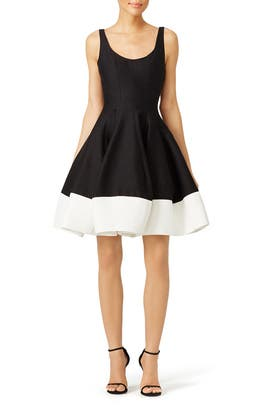 Silk Faille Tulip Skirt Dress by Halston Heritage