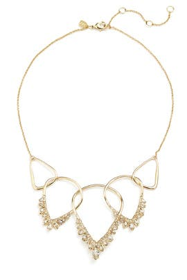 Jagged Marquis Cluster Necklace by Alexis Bittar