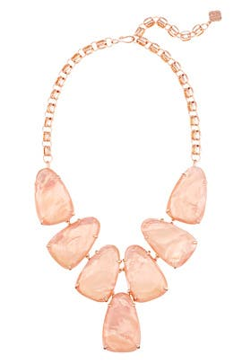 Rose Gold Harlow Necklace by Kendra Scott