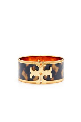 Raised Logo Cuff by Tory Burch Accessories