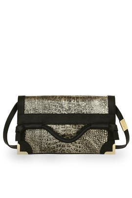 Foley and Corinna - Gold Framed Flap Cross Body
