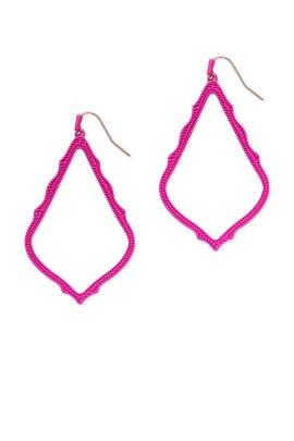 Magenta Sophee Earrings by Kendra Scott