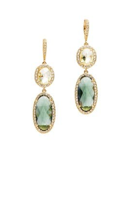 Enchanted Melody Double Drop Earrings by Jenny Packham