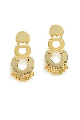 Golden Pinata Earrings by Lele Sadoughi