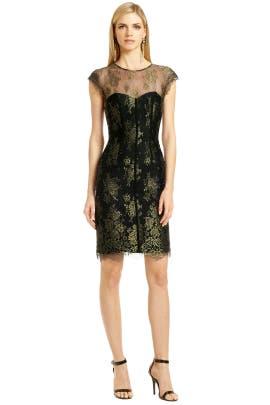 ML Monique Lhuillier - Nothing But Lace Dress