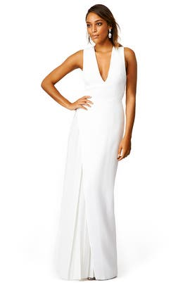White Lea Gown by camilla and marc