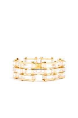 Garden Fence Bracelet by Lele Sadoughi