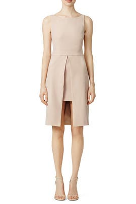 The Straight Nude Dress by ST by Olcay Gulsen