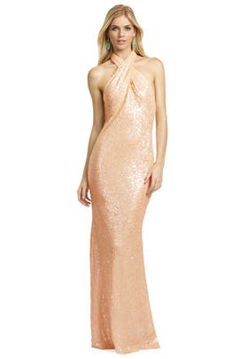 Badgley Mischka - Champagne Fizz Gown