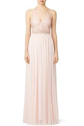 Blushing Ballerina Gown