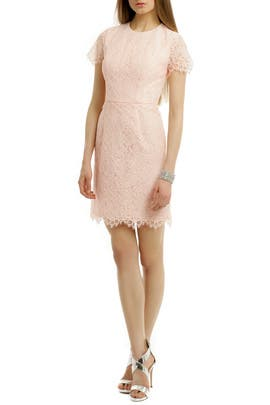 Shoshanna - Petal Lace Valeria Dress