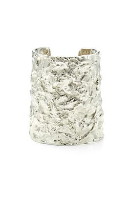 Melted Metal Cuff by Ben-Amun